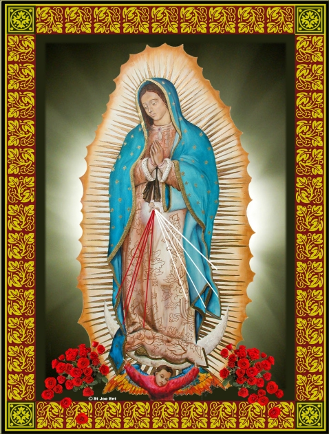 Our Lady Of Guadalupe                         by Yolanda Bello