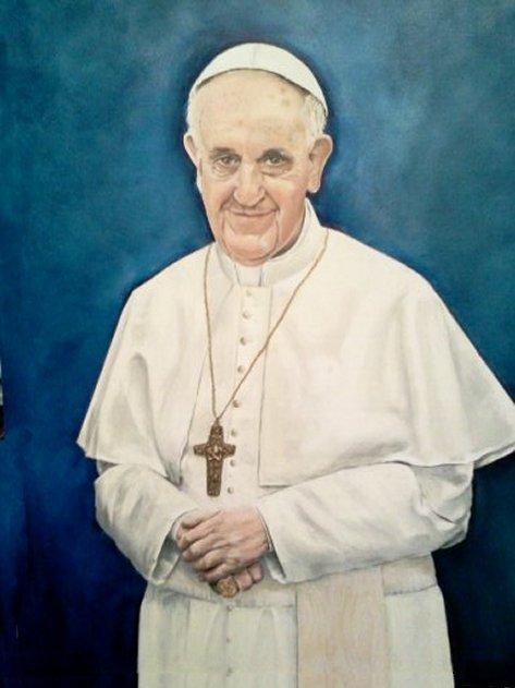 Pope Francis by                         Yolanda Bello
